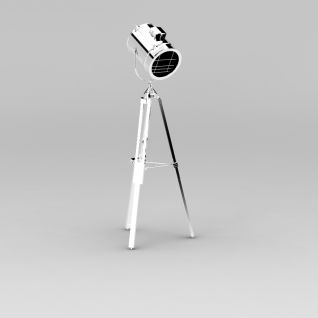支架射灯3d模型