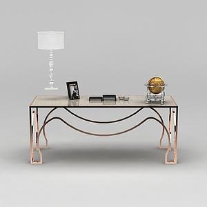 書房時尚桌子模型