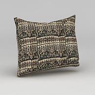 中式沙发靠枕3D模型3d模型