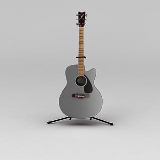 电吉他3d模型3d模型