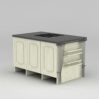厨灶3d模型