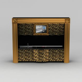 奢华橱柜操作台3d模型