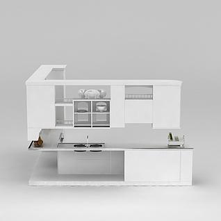 拐角橱柜3d模型
