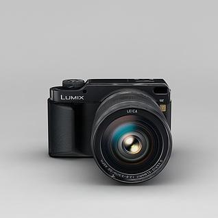 Lumix相机3d模型3d模型