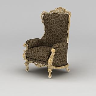 豪华沙发椅3d模型3d模型