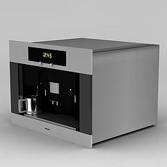 咖啡机模型3d模型