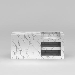 大理石柜模型