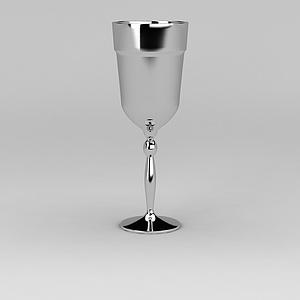 不锈钢烛台模型