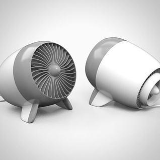 小风扇3d模型