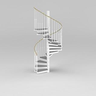 旋转楼梯模型3d模型