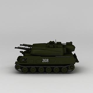 坦克3d模型3d模型