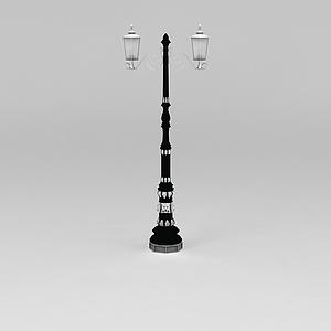 公园路灯模型