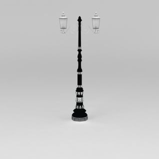公园路灯3d模型