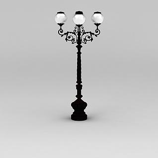 景观路灯3d模型