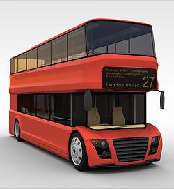双层<font class='myIsRed'>公交车</font>3d模型
