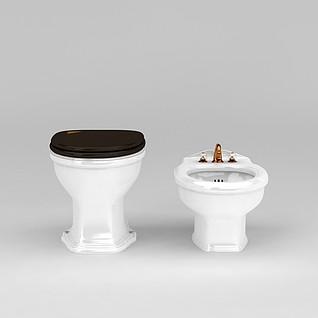 妇洗器3d模型