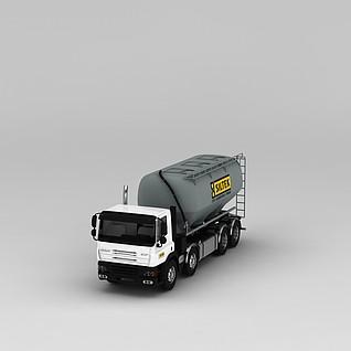 罐车3d模型3d模型