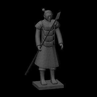 兵马俑3d模型