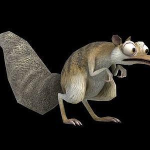 松鼠3d模型