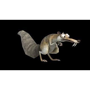 松鼠3d模型3d模型