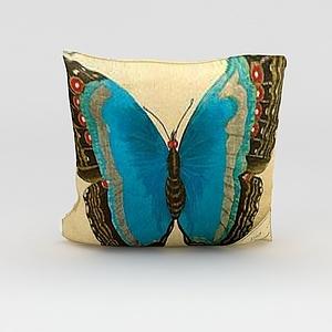 蝴蝶抱枕模型