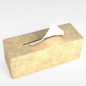 纸抽盒模型