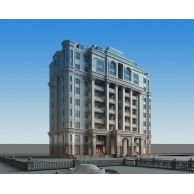 别墅豪宅3D模型3d模型