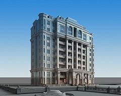 别墅豪宅模型3d模型