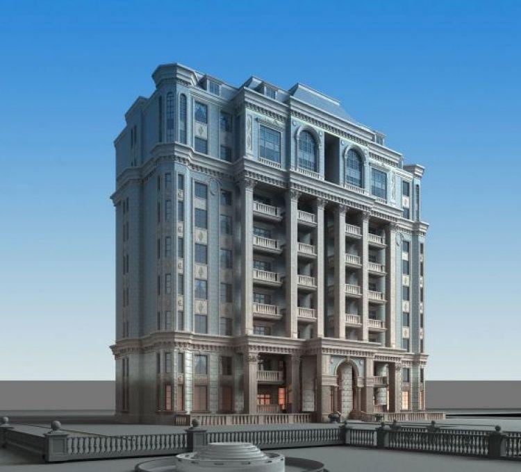 别墅豪宅模型