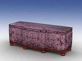 床前凳模型