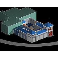名宅庭院3D模型3d模型