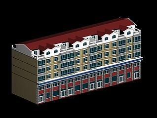 住宅楼3d模型