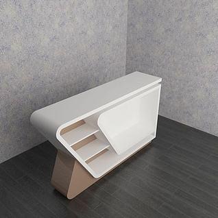 家庭吧台3d模型