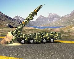 导弹发射动画模型3d模型