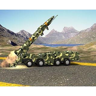 导弹发射动画3d模型3d模型