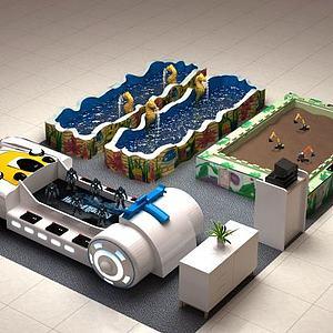 游乐设施模型