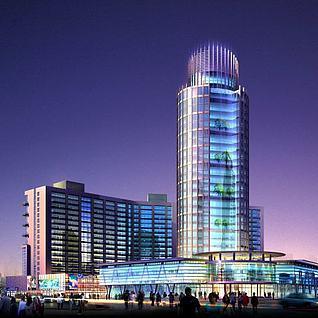 高楼大厦3d模型