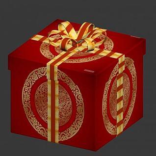 礼盒3d模型