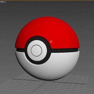 精灵球3d模型