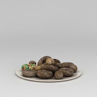 甜甜圈3d模型3d模型