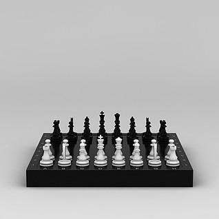 西洋棋3d模型3d模型