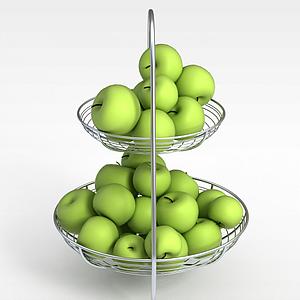 青蘋果果籃模型