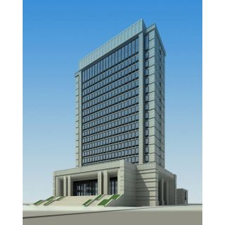 行政办公大楼3d模型