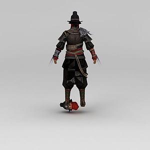 3d人物角色模型