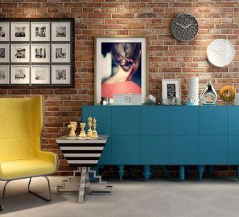 创意茶几柜子沙发椅组合