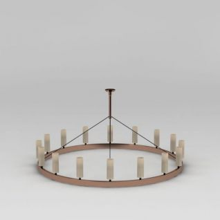 环形吊灯3d模型