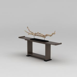 中式古典端景台3d模型
