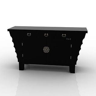 备餐柜3d模型