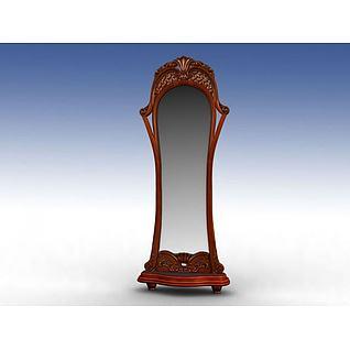 礼仪镜3d模型