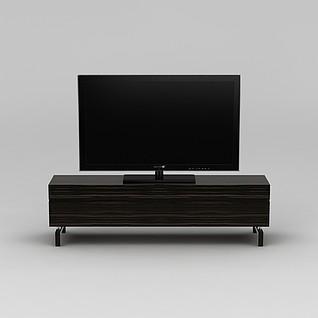 现代电视柜3d模型